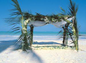 beach wedding in tanzania, africa