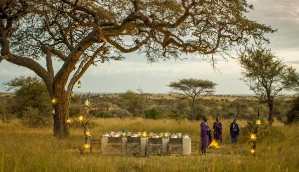 tanzania wedding setting